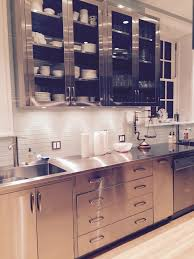 Stainless Steel Kitchen Furniture Customizable Stainless Steel Residential Cabinets Lexington Sc
