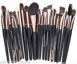 image is loading 20pcs makeup brushes kit set powder foundation eyeshadow