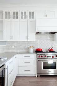 gray kitchen backsplash tile stunning gray kitchen tile 5 white tiles pops of red home gray gray kitchen backsplash tile