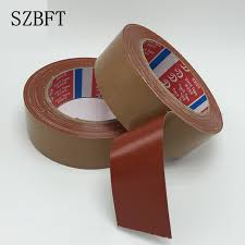 szt brown cloth tape strong waterproof single sided carpet tape high sticky leather tape whole