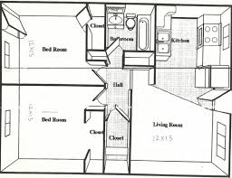 ... Top Photo Of 500 Square Feet House Plans 600 Sq Ft Apartment Floor Plan  500 For Best Uncategorized : 600 Sqft 2 Bedroom ...