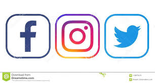 facebook twitter instagram logo. Unique Instagram Facebook Twitter And Instagram Logos Intended Facebook Logo N