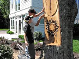 Businessman, chain saw give new life to dead tree - News ...