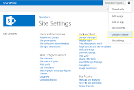 Sharepoint 2013 Site Templates How To Create A Custom Master Page Using Design Manager In