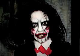 jigsaw s billy doll makeup tutorial saw makeup