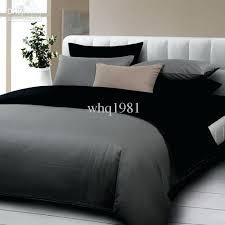 gray bed set contemporary simple bedroom decoration with solid black dark gray bedding comforter set queen gray bed set