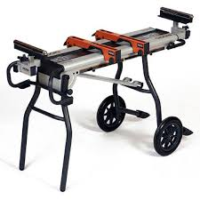 portable chop saw table. i bought this stand for my dewalt. it is really great and very portable. portable chop saw table l