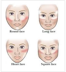 contouring for diffe face shapes using bronzer blush highlighter