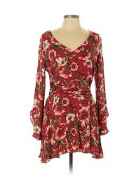 0x Plus Size Chart Details About Forever 21 Plus Women Red Casual Dress 0x Plus