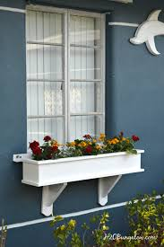 Build Window Box How To Build A Flower Box Planter Tutorial H20bungalow