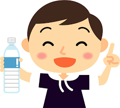 Little Boy is Holding a Water Bottle clipart. Free download transparent  .PNG | Creazilla