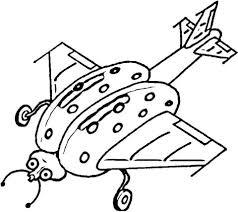 Lieveheersbeestje Vliegtuig Kleurplaat Gratis Kleurplaten Printen