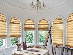 Moveable Arch Shade With Pole  For The Home  Pinterest  Arch Semi Circle Window Blinds