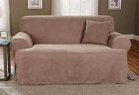 sure fit sofa slipcover soft suede t