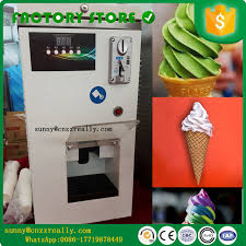Self Service Ice Cream Vending Machine Inspiration CNF Stainless Steel Ice Cream Vending Machine Automatic Coins Model