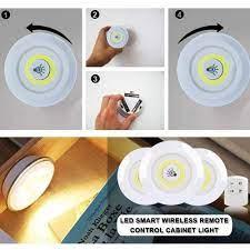 Đèn Led Đa Năng 💥Có Điều Khiển Từ Xa💥 Đèn Dán Tường Cao Cấp - Đèn LED Dán  Tủ Quần Áo