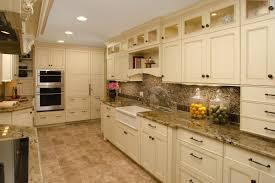 elegant cabinets lighting kitchen. Elegant Cabinets Lighting Kitchen. Cream Kitchen With Under Cabinet And Mosaic Tile E