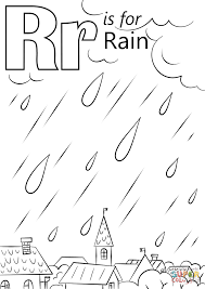 Small Picture Letter R Is For Rain Coloring Page New Coloring Pages glumme