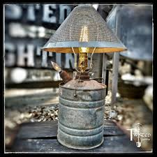 repurposed lighting. Gas Can Lamp Repurposed Lighting
