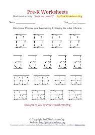 Letter Practicing Letter D Tracing Worksheet K Tracing Worksheet D School