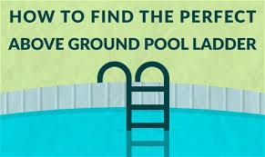 Above ground pool ladder Platform Swim University Best Above Ground Pool Ladders