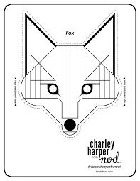 Charlie Harper Printable Animal Crowns Color Charley Harper