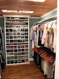 closet shelves ideas closet storage ideas inside a small walk storage ideas for shoes in small