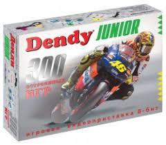 <b>Игровая приставка Dendy</b> Junior (300 встроенных игр ...