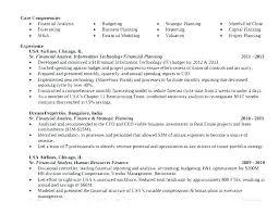 Senior Financial Analyst Resume Sample Financial Analyst Resume Sample Sample Professional Resume