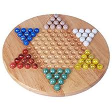 Wooden Game With Marbles Amazon Chinese Checkers with Marbles Toys Games 20