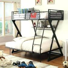 loft bed storage for bunk bookshelf white sandy black metal shelf