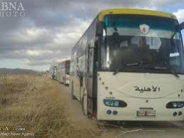 Image result for خروج 5000 نفر از ساکنان فوعه و کفریا پس از 3 سال محاصره کامل
