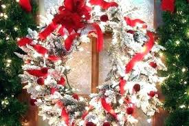 marvelous wreath lights lighted outdoor battery operated