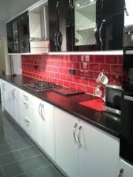 black grey and white kitchen tiles white kitchen red tiles interior design for special kitchen idea