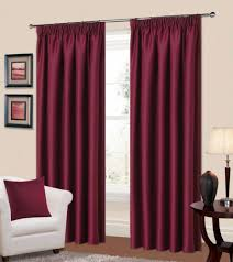 Plum Colored Bedrooms Plain Plum Colour Thermal Blackout Readymade Bedroom Livingroom