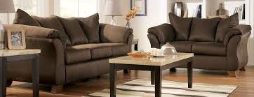 furniture design for living room. design appealing small living room furniture with dark brown sofa triple and double seats for r