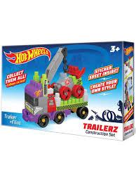 Машинка <b>конструктор Hot</b> wheel серия trailerz Traker + Flint <b>Bauer</b> ...