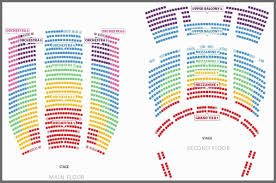 41 Methodical Delta Hall At The Eccles Seating Chart