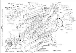 ford truck technical drawings and schematics section e engine 6 cylinder 240 and 300 engines