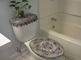 toilet seat covers for elongated lids. crochet covers for toilet seat \u0026 tank lid, elongated lids