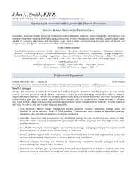 Agreeable Professional Hr Resume Writers For Human Resources