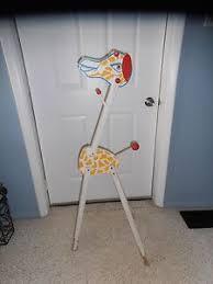 Giraffe Coat Rack personalised wooden baby clothes hanger by jg artwork 98