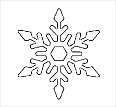 Snowflake coloring page from snowflakes category. 17 Snowflake Stencil Template Free Printable Word Pdf Jpeg Format Download Free Premium Templates
