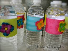 How To Decorate Plastic Water Bottles