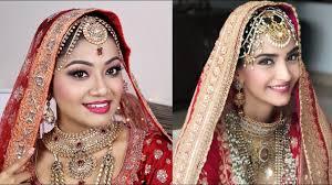 sonam kapoor wedding makeup tutorial indian bridal makeup
