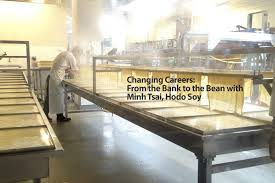 changing careers from the bank to the bean minh tsai hodo soy
