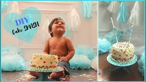 How To Set Up A Cake Smash Photo Shoot At Home L Diy Decorations L