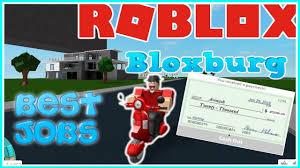 Best Jobs On Bloxburg Job Promotions Roblox