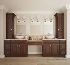 bathroom cabinets for less. java maple glaze bathroom vanity cabinets for less