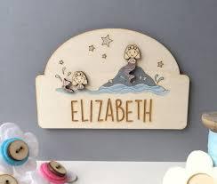 mermaid door plaque